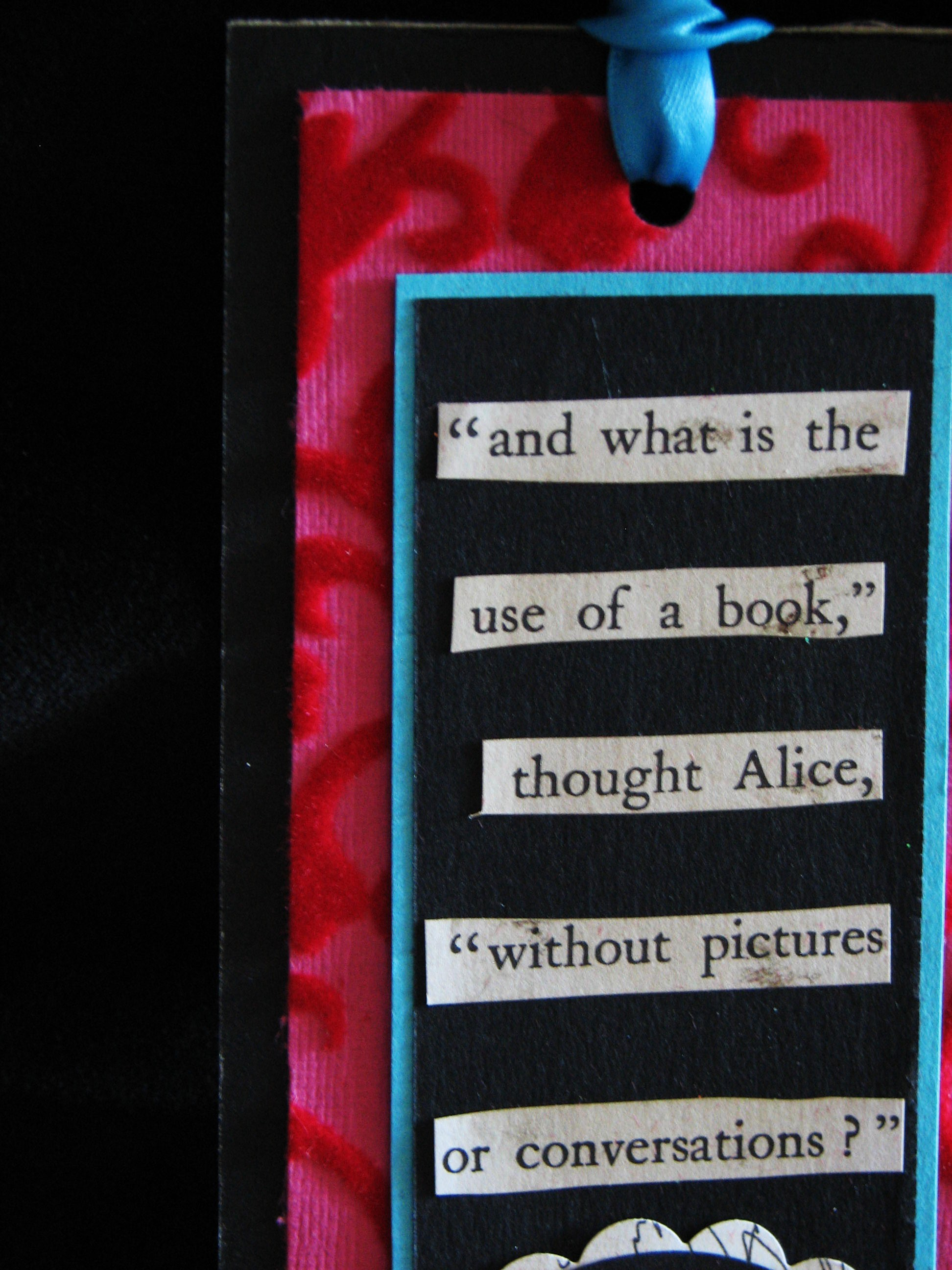 Alice Bookmark 007