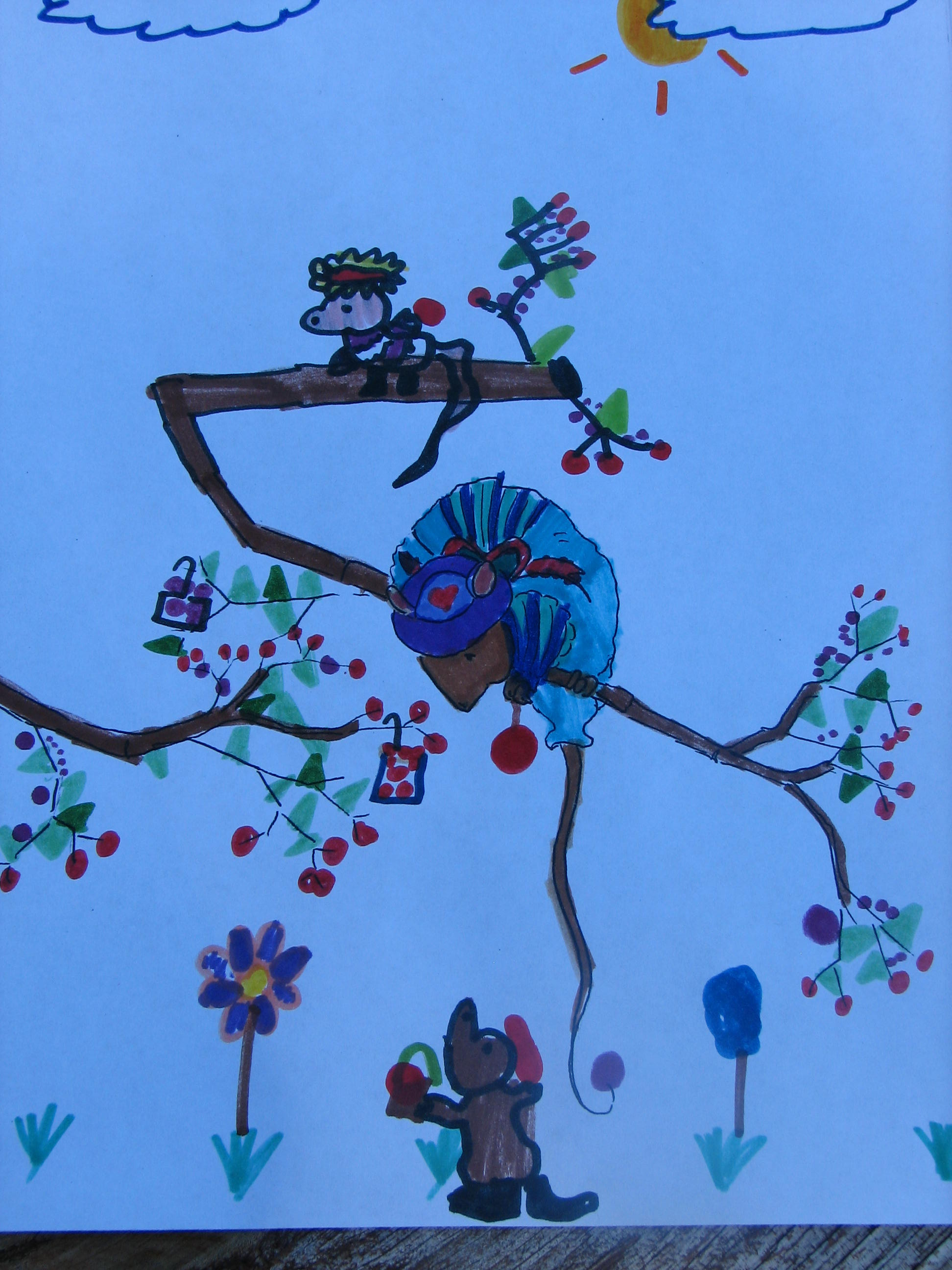of mice and berries S-1