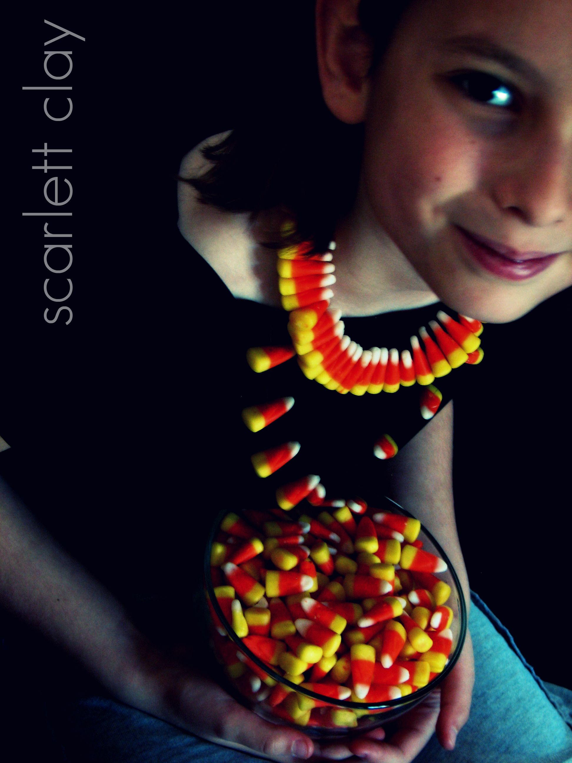 Candy Corn Jewelry we Made Our Candy Corn Jewelry